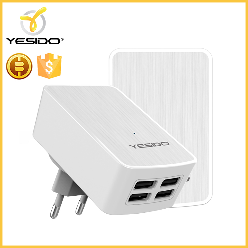 Fast charging smart desktop intelligent usb wall charger for cell phone