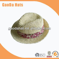 2013 Hot selling Custom Paper Crown Trilby hats