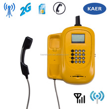 GSM Fixed Wireless Outdoor students Phone with sim card