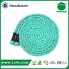 China supplier factory price rubber textile water garden hose with sprayer