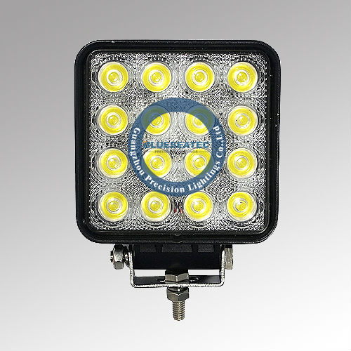 Precision Auto Led 48W LED Working Light off road work lamp with 2 Years Warranty