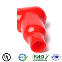 China supplier customized silicone connectors cap battery cover