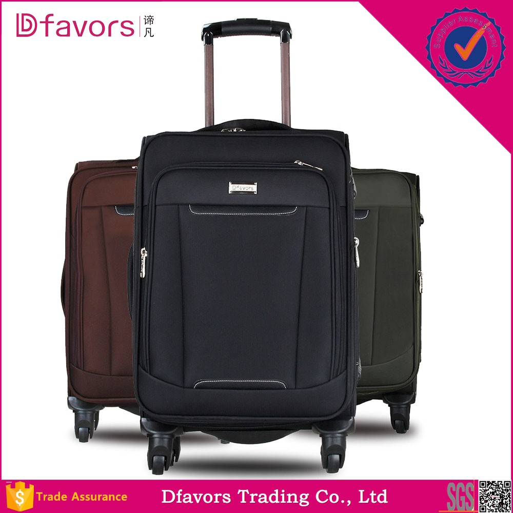Manufacture price alibaba oxford material suitcase trolley case luggage 2014 hard luggage for kids wholesales