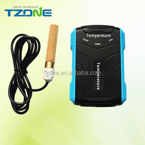 one digital temperature sensor GSM and GPRS temperature and humidity transmitter
