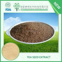 Natural Tea seed extract powder Tea Saponin powder 80% extract Pesticide Adjuvants and washing auxiliary detergent