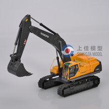 custom made volvo excavator model,scale excavators,metal excavator diecast model factory