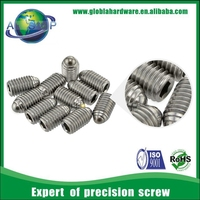 security factory price ball point set screw