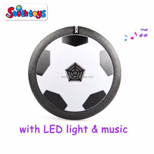 Indoor and Outdoor Air Power Football LED Light and Music Hover Ball Soccer