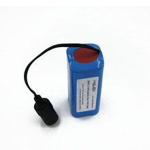 Fast charging Deep cycle lithium 12.8v 6.4ah 26650 LiFePO4 battery pack