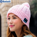 New Arrival Bluetooth beanie Hat Cap Knitted Winter Magic Hands-free Music mp3 Hat for woman Men Smartphones
