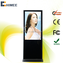 47 Inch led screen 1080p full hd touch screen interactive full color led digital signage display