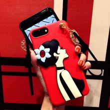 3D fashionable universal silicone cell phone case with workable price