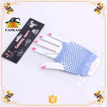 Women short sexy fishnet gloves for evening party