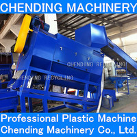 CHENDING new condition pet bottle label separator machine with water wind