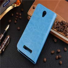 Flip stander leather phone CASE for mi mobile note2