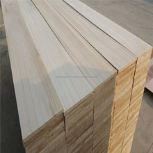 Cedar siding solid wood board paulownia finger jointed timber battens panel