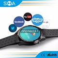 SMA SMA-S3 MTK6580 3G SIM/GSM Android Wifi Smart Watch Support Google Map Google Music GPS Navigation