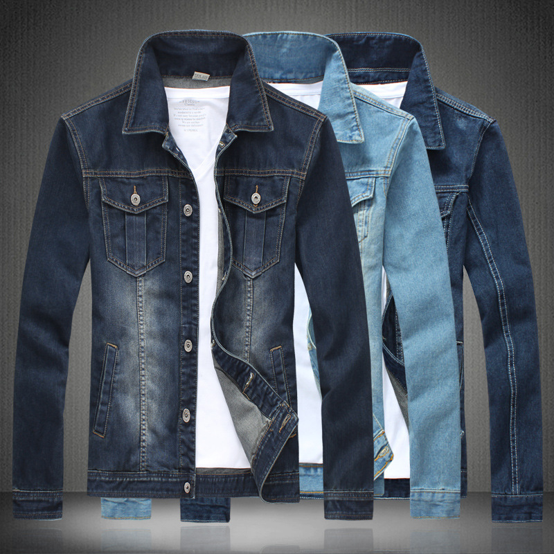 Best Products For Import Men's Lucky Strike Denim Jacket