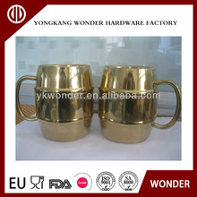 hot selling heat changing mug pure copper planting moscow mule mug