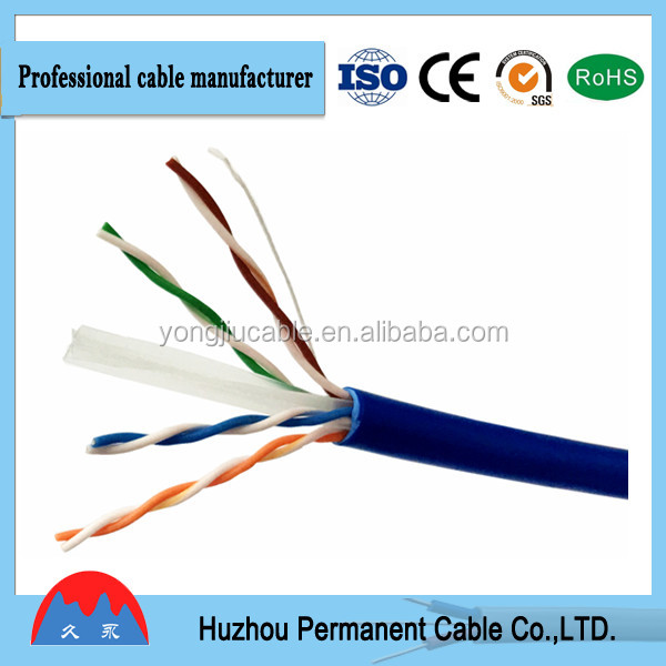 High Quality 23 AWG UTP Cat.6 Lan Cable, 24 AWG UTP Cat.5e Lan Cable, Network Cable