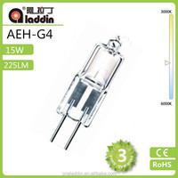 G4 15w Halogen Bulbs Security Lamp with bottom price