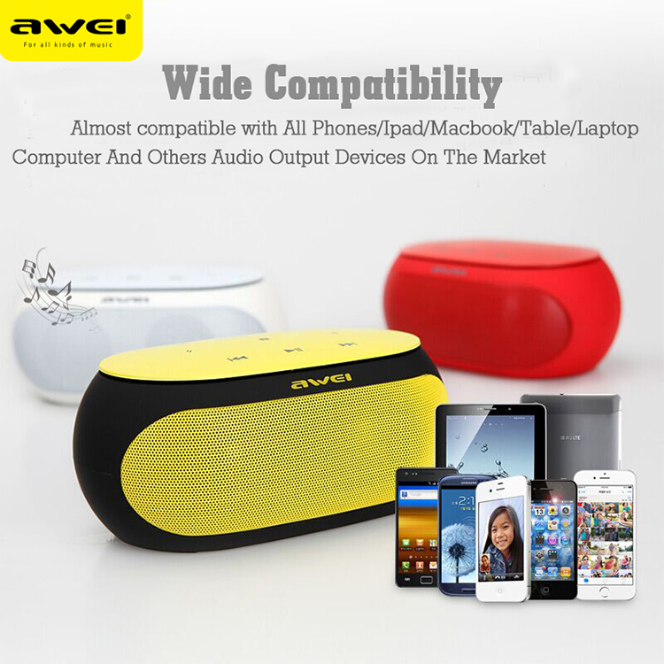 Awei Y200 Outdoor Portable Small Mini Custom Wireless Bluetooth Speaker