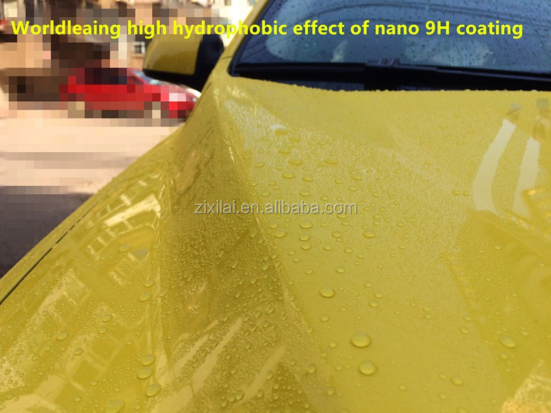 Nano crystal glass coating