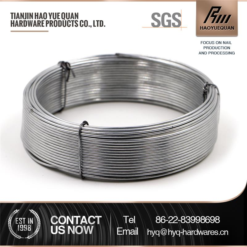 high tensile strength galvanized steel wire 20g wire