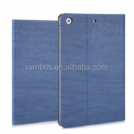 Anti-slip smart wake and up Customize leather case for iPad mini 2