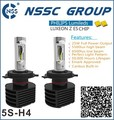 NSSC 6v12v 24v 25W 4000lm no fan type H4 H7 H11 LED Car Headlight kit 6000K