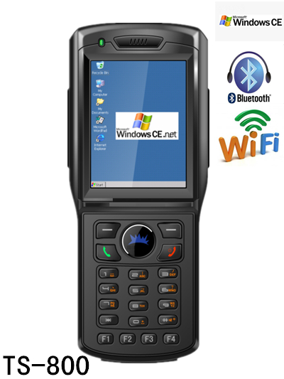 Tousei handheld Windows CE touch screen PDA TS-800 with RFID/1&2D barcode scanner/WIFI/GPS/GSM/PGPRS/Bluetooth/3G for logistic