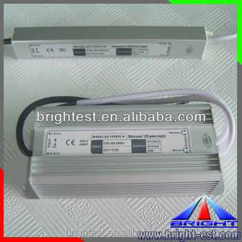 ROHS CE 12v 80w triac dimmable led driver ip67 waterproof aluminum power supply with CE Certification