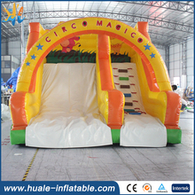Duable inflatable water slide/inflatable water slide clearance/largest inflatable double lane slip slide