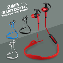 New arrival 2017 pendant style bluetooth stereo sport headphones wireless earphones