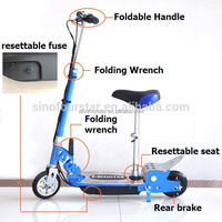 120w rubber tyre electric motorcycle for kid