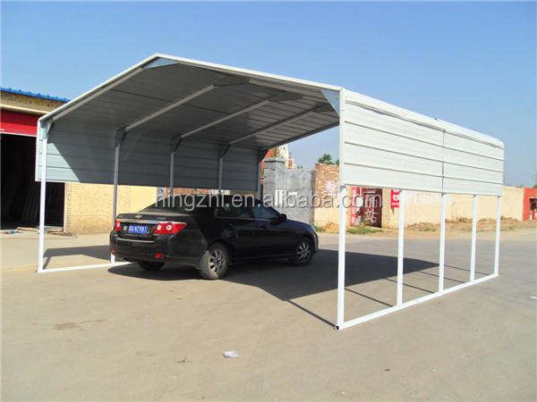 Outdoor metal carport kits for two cars buy pedal