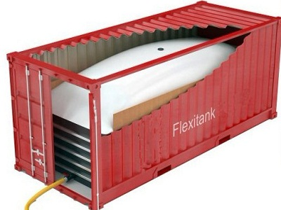 bulk glycerin storage flexitank flexibag