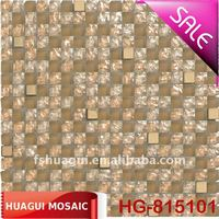 HG-815101 Color intrigue cryatal glass wall Listello