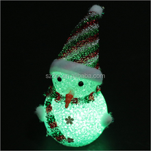 custom make plastic vinyl toy/make your own design fantasy snowman vinyl toy for festiavsl gift/christmas vinyl toy for decor