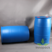 200 liter open top plastic drum for chemical 55 gallon 60 gallon container