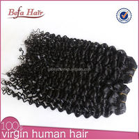 Perfect lady double weft virgin two tone brazilian hair weft