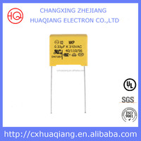 Rohs Compliant Long Life Class X2 275V 0.22uF Power Safety MKP X2 Run Capacitor