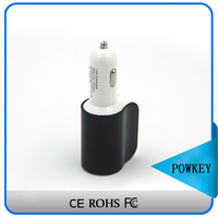 Smart newly model car charger and cigarette lighter, 3 in1 auto car battery charger usb