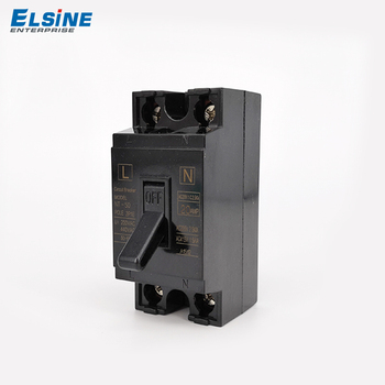 Elsine NT50 black circuit breaker 20amp miniature circuit breaker mcb safety and convenient