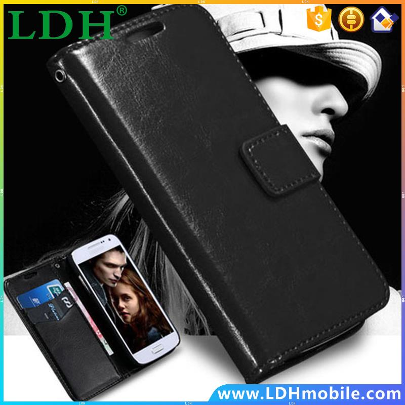 Luxury Retro Case For Samsung Galaxy S4 Mini I9190 Leather Wallet Stand String Card Holder Phone Bag Cover For Galaxy S4 mini