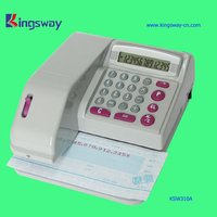 Currencies Cheque Writer KSW310A of Popular Style