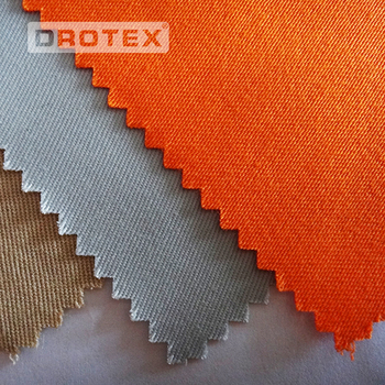 Cotton 88% nylon 12% 300gsm 4/1 sateen fire resistant protective workwear fabric