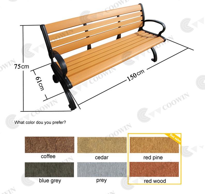 aiti uv banco de muebles de jard n al aire libre a prueba ForBanco De Paletas Al Aire Libre