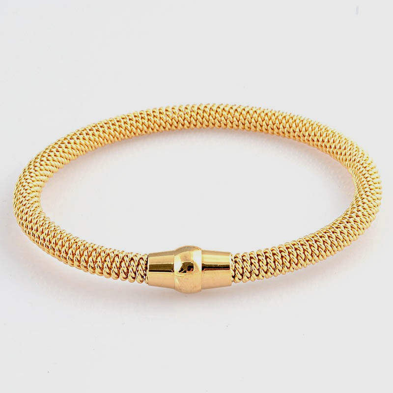 Different style tennis bracelet yellow gold 18k wholesale BR2595G