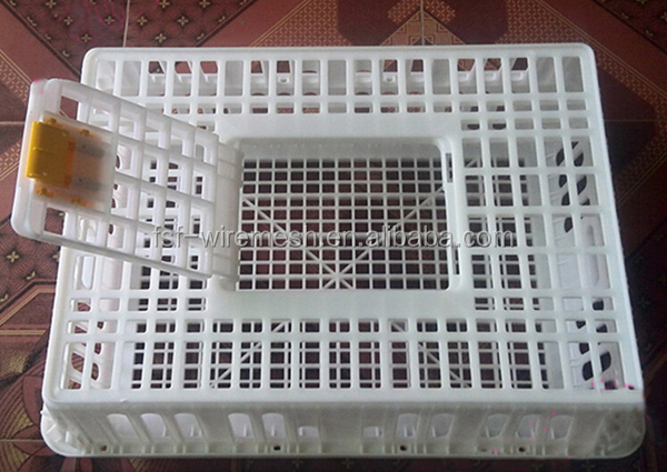 Equipment for chicken factory ,plastic live chicken transport cage , chicken transport basket /crate basket